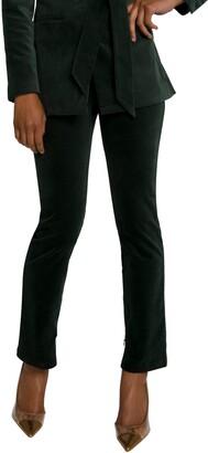 Good American Velvet Suit Pants