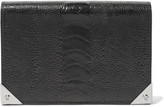 Alexander Wang Prisma textured-leather wallet