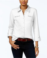 Tommy Hilfiger Utility Shirt, Only at Macy's
