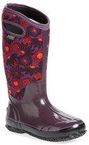 Bogs Women's 'Watercolor' Waterproof Snow Boot With Cutout Handles