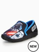 Marvel Star Wars Boys Slip On Slipper