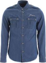 Balmain Shirt With Frayed Hem