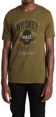 Lucky Brand Whiskey Made Me Do It Graphic T-Shirt