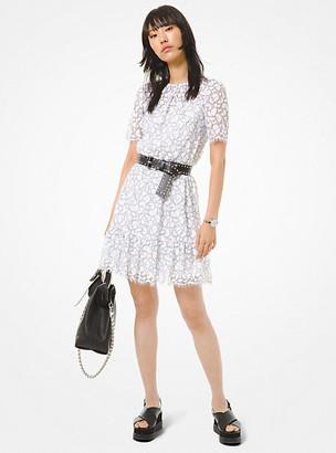 MICHAEL Michael Kors MK Corded Lace Dress - White - Michael Kors