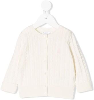 Ralph Lauren Kids cable-knit buttoned cardigan