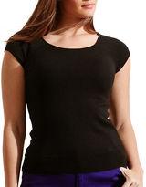 Lauren Ralph Lauren Plus Silk-Cotton Sweater