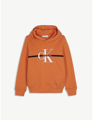 Calvin Klein Jeans Monogram cotton hoodie 4-16 years