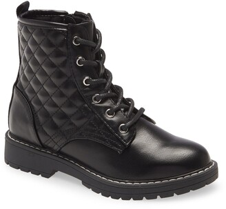 Steve Madden Kids' Bettyy Lace-Up Boot