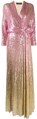 Jenny Packham Gina ombre sequin gown