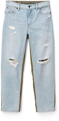 Denim Slack Mix Jeans