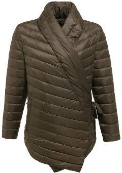 JOTT Brown Crossed Feather Coralie Jacket - S - Brown/Leather