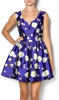 Ark & Co Floral Satin Dress