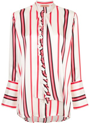 Maggie Marilyn striped pussybow shirt
