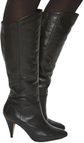 Office Kiss Slouch Knee Boots