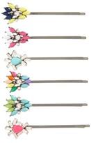Cara 6-Pack Embellished Bobby Pins