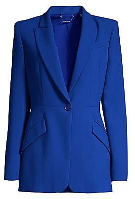 Elie Tahari Women's Madison Crepe One-Button Blazer