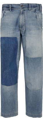 Fabric Brand Dust Bowl Mid-Rise Straight-Leg Jeans