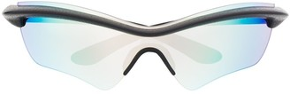 Mykita x Maison Margiela iridescent sunglasses