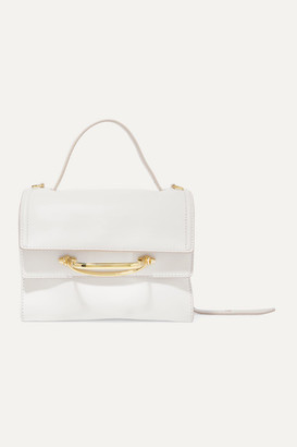 Alexander McQueen The Story Small Leather Tote - Ivory