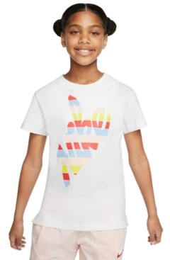 Nike Big Girls Outside T-Shirt