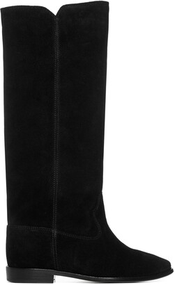 Isabel Marant Cleave Round-Toe Boots