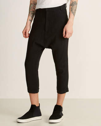 Army Of Me Cropped Drop Crotch Twisted Pants