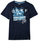 DKNY Boys 8-20) Graphic Logo Tee