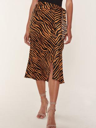 J.o.a. Wrap Midi Skirt