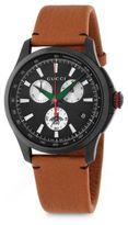 Gucci Leather Strap Quartz Watch