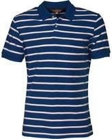 Ben Sherman Pique Stripe Polo Limoges