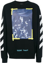 Off-White Caravaggio sweatshirt - men - Cotton - XS