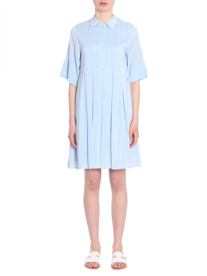 Carven Pleated Dress
