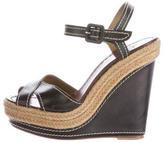 Christian Louboutin Platform Espadrille Sandals