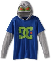 DC Kids - Beastly 2fer L/S Tee (Big Kids) (Royal Blue) - Apparel