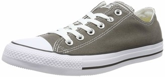 Converse Unisex-Adult Chuck Taylor All Star Season Ox Trainers Grey 4 UK