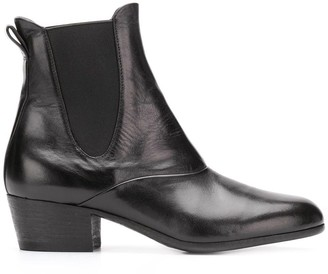 Pantanetti Heeled Chelsea Boots