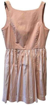 American Apparel Pink Cotton Dress for Women