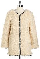 French Connection Santorini Faux Fur Coat