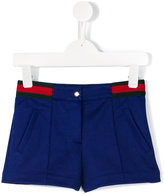 Gucci Kids - contrast stripe shorts - kids - Cotton/Polyester - 4 yrs