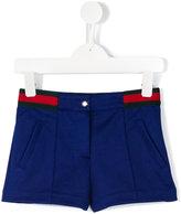Gucci Kids contrast stripe shorts