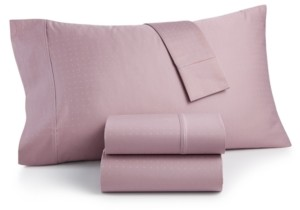 Charter Club Closeout! Sleep Luxe 700 Thread Count, Dobby Dot Standard Pillowcase Pair, 100% Egyptian Cotton, Created for Macy's Bedding