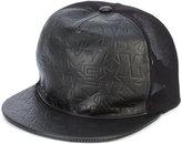 Givenchy star logo cap - men - Calf Leather/Nylon - One Size