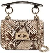 Valentino Garavani Micro Rockstud Spike Python Bag
