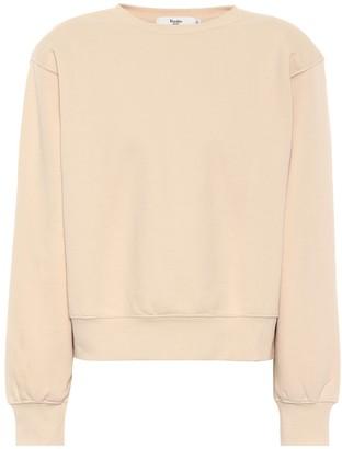 Frankie Shop Vanessa cotton jersey sweatshirt