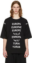 Ueg Black Refugee T-Shirt