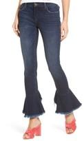 Blank NYC Women's Blanknyc Ruffle Flare Hem Jeans