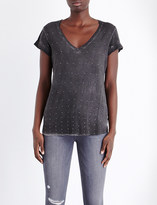 Paige Charlie studded jersey t-shirt