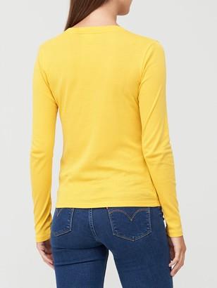 Levi's Long Sleeve Baby Tee - Yellow