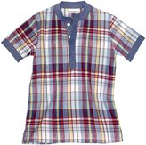 Masala Baby Tabla Tunic (Toddler/Kid) - Multi Check Red-10
