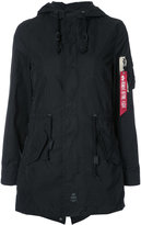 Alpha Industries Diplomat Fishtail parka - women - Cotton/Nylon - XS